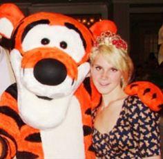 Lizzy Grant With Tigger, Tippy #LDR, #Lizzygrant, #Lanadelrey