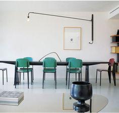 Crane light -- Paints & Palettes: Modern Green : Remodelista