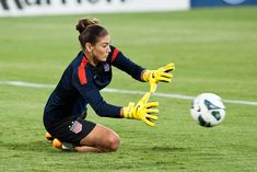 Hope Solo. (Francis Chung)