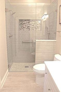 Small bathroom remodel designs 40 Modern Small Master Bathroom Renovation Ideas - Page 20 of 40 come Bathroom Design Small, Bath Design, Bathroom Modern, Small Bathroom Showers, Minimalist Bathroom, Shower Ideas Bathroom, Gold Bathroom, Bathroom Mirrors, Master Bathrooms
