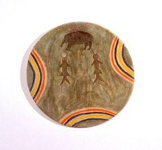 Модель щита, Равнинные Апачи. Принадлежал Waqubeta - Medicine Bear (Кайова Апачи).
