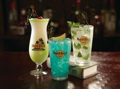 Time for some drinks at Hard Rock Cafe