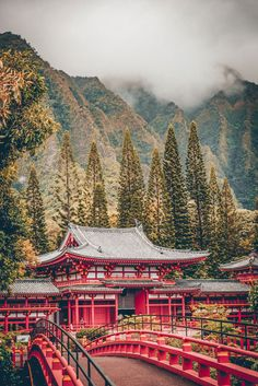 Byodo-In Temple, Oahu. Check out the Best Things to do in Oahu Hawaii (You Probably Haven't Heard of). Check out the full post on Hawaii Vacation Tips, Hawaii Travel, Beach Travel, Mexico Travel, Waikiki Beach, Honolulu Hawaii, Hawaii Beach, Hawaii Things To Do, Hawaii Pictures