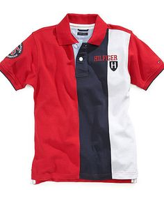 Polo Rugby Shirt, Polo T Shirts, Baby Boy Shirts, Boys Shirts, Nike Outfits, Cool Outfits, Camisa Polo Tommy, Fitted Denim Shirt, Polo Shirt Design
