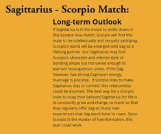 Sagittarius Love Match, Scorpio And Sagittarius Compatibility, Scorpio Matches, Zodiac Signs Love Matches, Sagittarius Quotes, Zodiac Signs Scorpio, Scorpio Men, Scorpio Traits, Zodiac Facts