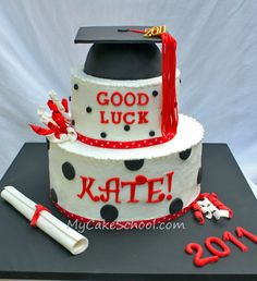 graduation cake, I'm going to attempt this one for my daughter!