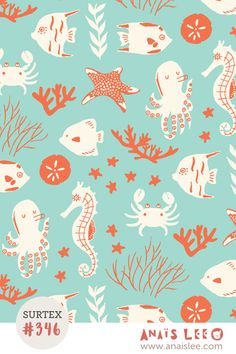 print & pattern: SURTEX 2016 - anais lee