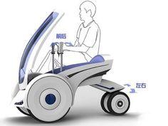 Folding Electric Vehicle, à mi-chemin entre un quad et un Segway