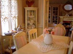 la salle a manger, gorgeous French dollhouse: Une Demeure de Charme blog
