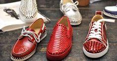 Christian Louboutin presenta colección de calzado para hombres 2017