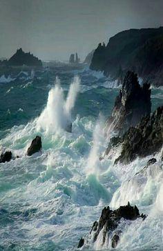 Sea And Ocean, Ocean Beach, Landscape Photography, Nature Photography, Exposure Photography, Stormy Sea, Ocean Scenes, Sea Waves, Seascape Paintings