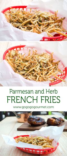 This french fries are light, crunchy and full of flavor- no condiments needed!