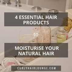 When it comes to moisture there's never enough said and one way or another those of us who have curly hair are always making sure our mane is properly hydrated. So let me ask you this... do you have your stash of hair products fully stocked with the products you need to moisturise your hair? Not sure...!? Don't worry I'll share them with you.Here are your the 4 essential ones: 1 - Conditioner - This one was actually easy wasn't it? Whether you use it after your shampoo to replace back...