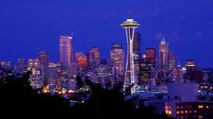 First Stop - Seattle and hopefully a trip to the top of the Space Needle