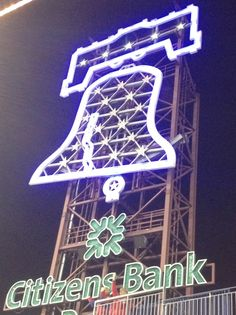 PHILLIES! I love when the bell rings!