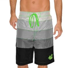 MLB Cleveland Indians Downtown Swim Trunks - Gray