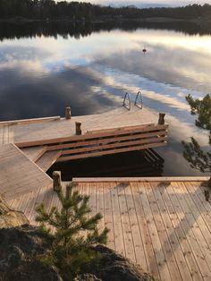 Landscape Architecture, Landscape Design, Haus Am See, Lake Dock, Lake Cabins, Lake Cottage, Exterior Design, Future House, Outdoor Living