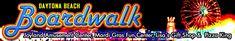 Daytona Beach Boardwalk - Featuring Joyland Amusement Center, Mardi Gras Fun Center, Pizza King & Lisa's Gift Shop