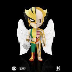 XXRAY MIGHTY JAXX DC Comics Deadshot Funny Anatomy Toy by Jason Freeny