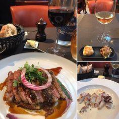 パリのLE PARIOでワイン🍷とディナー。宿泊ホテルの近くにこんな素敵なお店があったとは🤣 Dinner at LE PARIO , Paris France.  #肉 #ステーキ #beef #beefsteak #フレンチ #フレンチレストラン #ディナー #french #frenchrestaurant #dinner #ワイン #グラスワイン #wine #vin #vino #wein #winebytheglass #赤ワイン #白ワイン #redwine #whitewine #パリ #フランス #paris #france #avenueemilezola #ビストロ #フレンチビストロ #bistro #frenchbistro