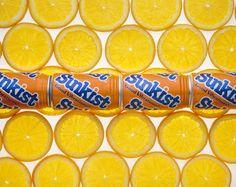 Sunkist Orange Soda bottle collar - ©2014 Dave Hawkins Photography, Nashville, TN