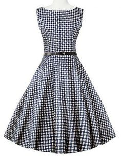 GET $50 NOW | Join RoseGal: Get YOUR $50 NOW!http://www.rosegal.com/plus-size-dresses/plaid-plus-size-sleeveless-flare-988372.html?seid=6677853rg988372