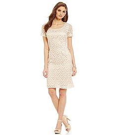 Preston and York Freya Lace Sheath Dress #Dillards