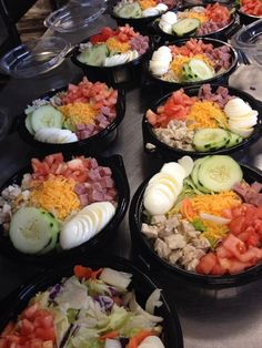 Chefs Salads from South Haven High School, South Haven, Michigan