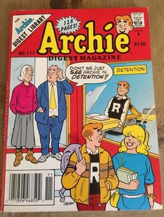 Archie Comic Digest 111 Reggie Jughead Betty Veronica The Archie Gang | eBay