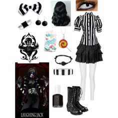 Creepypasta: Daughter of Laughing Jack by ender1027 on Polyvore