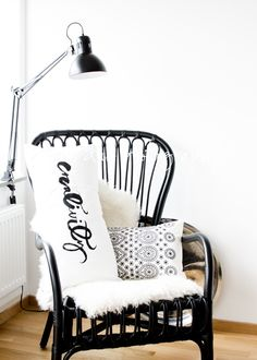 Ikea storsele chair. Two of these for the family room.