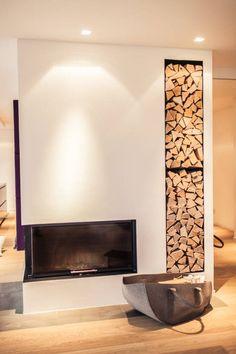Renovierung einer Villa am Stadtrand von Salzburg zu einem luxuriösen Wohn-Loft (Foto: Florian Stürzenbaum) : Moderne Wohnzimmer von Meissl Architects ZT GmbH