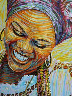 blackherstory:    afro-art-chick:    Bahiana   By vivainstitute     Love.