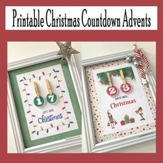 Countdown Until Christmas, Days Until Christmas, Christmas Bows, Christmas Themes, Christmas Lights, Glue Dots, Glue Crafts, Holiday Activities, The Elf