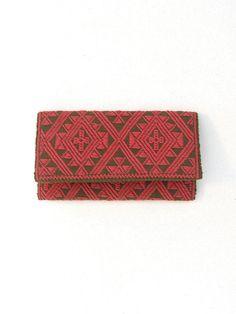 Chamuchic Zipper Wallet Chu Iv | Chamuchic Cartera Chu Iv Cierre | Chiapas Bazaar| Fairtrade Mexican Artisanal Collection