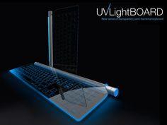 UVLight Board - Keyboard by Mu-Chern Fong