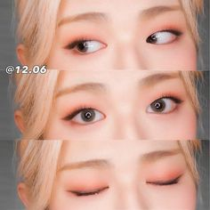 Learn about eye makeup tips Korean Makeup Look, Korean Makeup Tips, Asian Eye Makeup, Monolid Eyes, Beauty Makeup, Makeup Inspo, Makeup Inspiration, Korean Beauty Tips, Kawaii Makeup