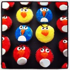 chirp chirp...homemade Angry Birds...party ideas