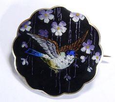 Marius Hammer Bird Brooch