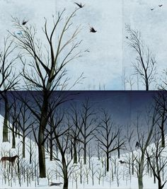 Winter Scene byy Sarah Jacoby