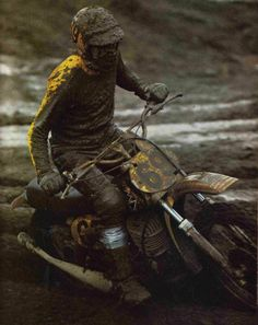 Roger DeCoster on Dirt Bike Racing, Racing Motorcycles, Motorcycle Bike, Dirt Biking, Vintage Motocross, Vintage Racing, Vintage Bikes, Vintage Motorcycles, Motocross Riders