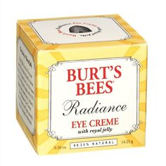 Burt's Bees Radiance Eye Creme with Royal Jelly Anti Aging Eye Cream, Best Eye Cream, Beauty Care, Beauty Hacks, Beauty Secrets, Nail Psoriasis Treatment, Burt's Bees, Eye Cream For Dark Circles, Royal Jelly