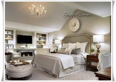 This is a Bedroom Interior Design Ideas. House is a private bedroom and is usually hidden from our guests. However, it is important to her, not only for comfort but also style. Much of our bedroom … Dream Bedroom, Home Bedroom, Bedroom Decor, Bedroom Ideas, Bedroom Designs, Headboard Ideas, Bedroom Inspiration, Master Bedrooms, Bedroom Furniture