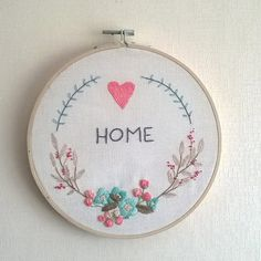 PDF hand embroidery pattern instant download needlecraft
