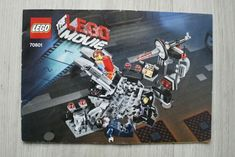 2014 Lego Movie Melting Room 70801 - Instructions Only - Used Lego Instruction Books, Dragon Dance, Lego Instructions, Lego Pieces, Lego Movie, Lego Building, Lego Star Wars, Movies, Bricks