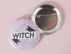 'Witch' Button$3.75