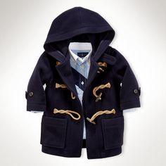 #Baby Boy Wool Toggle Coat on shopstyle.com