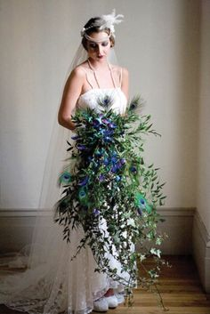 This hub offers great ideas for using feathers to add a touch of elegance, color or whimsy to wedding gowns, veils, pew and chair sashes and centerpieces.
