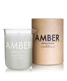 Laboratory Perfumes Amber Candle | Fragrance by Laboratory Perfumes | Liberty.co.uk
