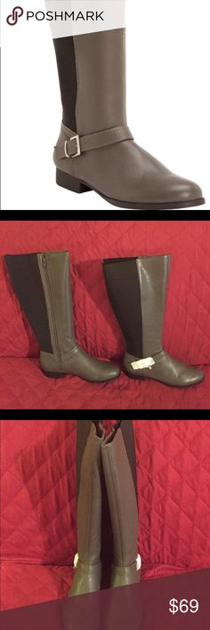 Comfortview Leather Knee High Wide Calf Boots NIB This is for a pair of Comfortview Leather Wide Calf Knee High Boots. Sizes: 7M, 7W, 8M, 8W. Brand new in box! Beautiful and high quality! Comfortview Shoes